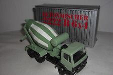 (NZG) Conrad Mercedes Benz Betonmischer 2222 B 6x4 1:50 OVP Truck LKW Oliv grün
