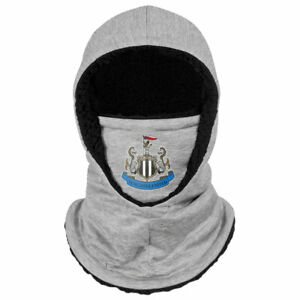 Newcastle United FC Grey Hooded Snood Adults