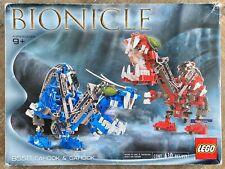 Lego Bionicle 8558 Original BOX & TRAY ONLY Cahdok Gahdok Giant Bohrok Queen