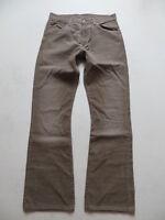 Levi's 507 Bootcut Cord Jeans Hose, W 31 /L 32, Braun ! Vintage Cordhose, RAR !