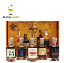 Rum Tasting GESCHENKSET 5 Miniaturen je 4cl + Booklet mit Don Papa Botucal u.a.
