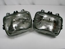 PAIR SEALED BEAM HEADLIGHTS with BUCKETS CHEVY GMC Suburban Tahoe Yukon C/K NEW
