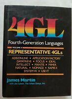 BOOK 4GL FOURTH-GENERATION LANGUAGES VOLUME II REPRESENTATIVE 4GLs 0133297497