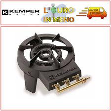 KEMPER FORNELLONE 3 RUBINETTI A GAS IN GHISA PER CAMPEGGIO 104988 CUCINA BOMBOLA