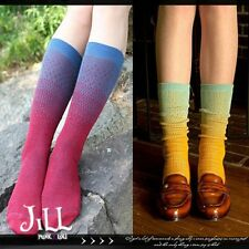 lolita harajuku vivi LENA fruit jelly candy ombre colour calf socks【J3C033】