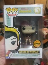 Funko Pop WONDER WOMAN BOMBSHELL  Chase #167 w/pop protector
