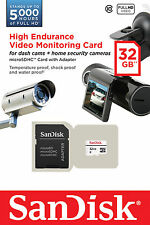 Sandisk 32gb High Endurance Micro SD SDHC Card for Video Monitoring, Action Cams
