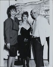 George Christy, Michele Lee, Bernadette Peters ORIGINAL PHOTO HOLLYWOOD Candid