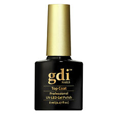 GDI Nails Quality Salon Shellac Holographic Glitters GEL Nail Polish Post Top Coat 8ml