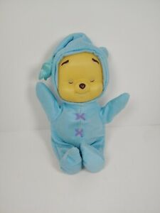 """Vintage Baby Pooh 11"""" Musical Light Up Glow Doll Fisher Price 👀 Video Winnie"""