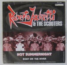 Pochette 2 roues 45 tours Roberto Jacketti & The Scooters 1983