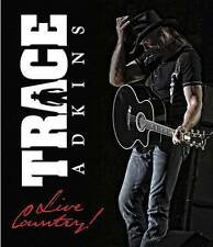 Trace Adkins: Live Country (DVD, 2015) Free Shipping!