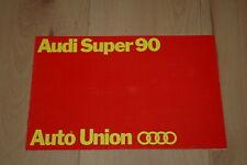 Audi Super 90 - Brochure folder catalogus