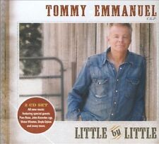 TOMMY EMMANUEL - LITTLE BY LITTLE USED - VERY GOOD CD
