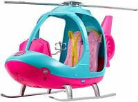 Oficial Barbie Viaje Helicóptero Giratorios Rotor Playset de Juguete