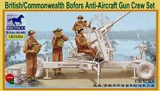 Bronco CB35084 1/35 British/Commonwealth Bofors Gun Crew Set