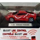 SILVERLIT FERRARI FIORANO 1:50 Scale RC Smart Phone Link Control Car Red * NIB