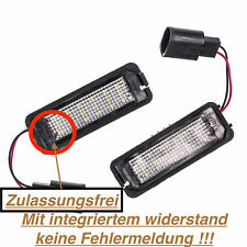 2x TOP LED SMD Kennzeichenbeleuchtung (VWP)