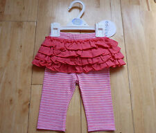 BNWoT M&S Super Cute Baby Girl Leggings with Skirt, 0-3 months, Brand New!