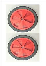 Set of 2 x 275mm wheels 20mm Bore Clearance Stock Golf Trolley - CL08