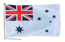 More details for royal australian navy ensign flag with rope and toggle - various sizes