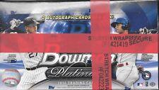 2016 Bowman Platinum Baseball Factory Sealed Hobby Box (2 Autographs Per Box)