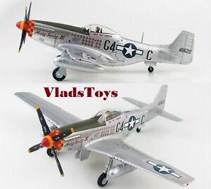 "Hobby Master 1/48 P-51D Mustang Nooky Booky IV Leonard ""Kit"" Carson HA7741"