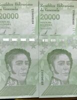 Venezuela 10000 Bolivares 10-2-1998 Pick 81 UNC Uncirculated Banknote Serie B
