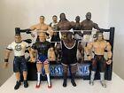 WWE Wrestling Figures Bundle Job lot Jakks X 9 WWF
