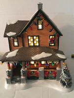 Ralphie's House By Dept. 56 A Christmas Story House W/ Box 2008 Lighted Village