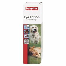 Beaphar Eye Lotion, 50ml. Sterile Saline-Solution for Dogs and Cats