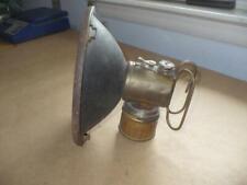 Vintage Brass JUSTRITE Coal Miner's Carbide Lantern Light