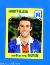 FOOT 98 FRANCE 1997-98 Figurina Sticker n. 237 - ROUVIERE - MONTPELLIER -New