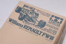 vintage TAMIYA 1/10 50723 Williams RENAULT FW18 body parts set