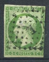 France 1854 Yv. 12 Oblitéré 60% 5 c, Napoléon III