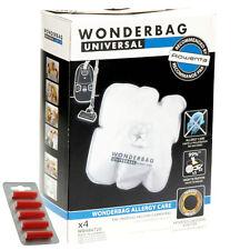 4 x Wonderbag Allergy Care Vacuum Cleaner Dust Bags ROWENTA TEFAL MOULINEX + Fre