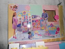 Fisher Price Mattel Happy Family Baby Store Playset Incomplete WORN BOX BONUS