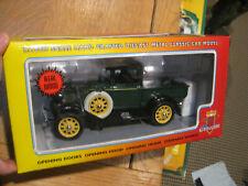 1 18 MOTOR CITY CLASSICS 1931 FORD MODEL A PICK UP LOMBARD GREEN 40002 REAL WOOD
