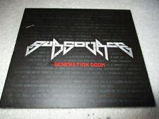 "SUBSOURCE     ""Generation Doom"" CD EP     Metal-Punk-Dubstep fusion"