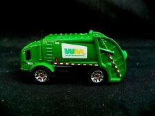 Matchbox Waste Management 2005 Green Garbage Trash Diecast Truck - 1:64 - RARE