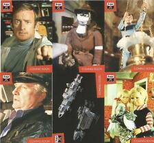 The Lost Worlds of Gerry Anderson Full 6 Card Trading Card Preview Set