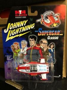 JOHNNY LIGHTNING Boxed SUPERCAR Colour Diecast Model Vehicle GERRY ANDERSON 2003