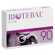 BIOTEBAL 90 tablets Hair and Nails Włosy Paznokcie Biotyna 5mg Free P&P ORIGINAL