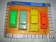 Vecchia ROCO trasporto Assortimento Set con Ford, Edsel, Opel e DKW
