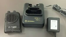 Motorola Minitor 4 Minitor Iv Pager with Charger, Ac Adapter, 2F Sv A03Kus9239_C