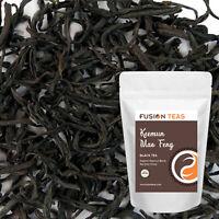 Keemun Mao Feng Black Tea - Organic Loose Leaf  - Fusion Teas