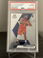 2019 Mosaic #209 Zion Williamson Red Jersey RC Rookie PSA 10 Variation 🔥📈