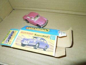 Matchbox 1/75 Modell Nr 67 VW 1600TL in Schachtel!