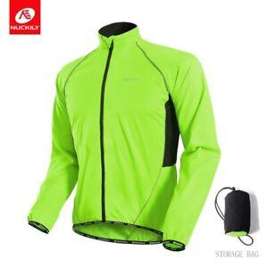 Cycling Windbreaker Jacket Men's Bicycle Jersey MTB Clothing Waterproof Jersey