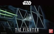 Bandai 1/72 Scale Model Kit Star Wars Tie Fighter Starfighters